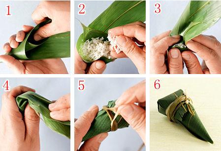端午节快到了!1分钟学会各种粽子的包法,很简单哦~