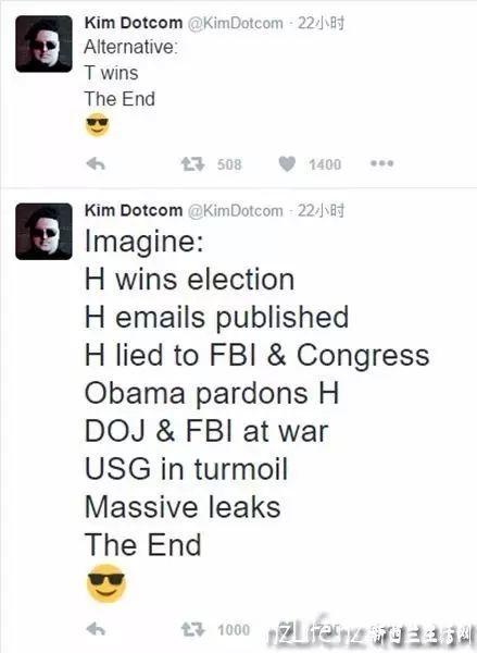"""""""最伟大的黑客"""" —改写美国大选的新西兰金阿胖Kim 获重大胜利"""