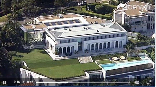 豪!澳洲5大最贵豪宅 3个被华人买下