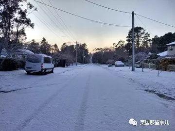 我们还在北半球热成狗,南半球的澳洲被大雪包围了...