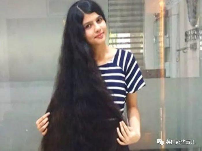 6岁开始没再理过发,现在她头发1米9!这么多头发平常怎么弄啊!
