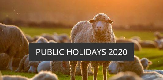 2020年新西兰公众假期和学校假期