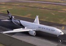 新西兰航空公司表示,飞往中国的航班正常运作。