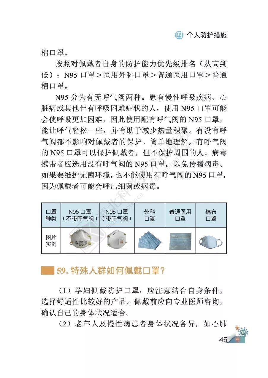 速看!《新型冠状病毒肺炎预防手册》正式发布