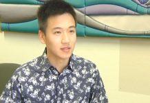 地方议员费舍尔·王(Fisher Wang)在超市遭到口头攻击