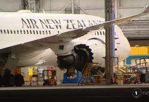 新西兰的撤侨航班于今天上午6.45出发武汉出发。