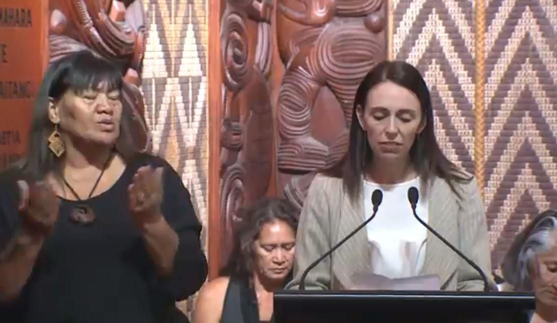 """新西兰总理在开幕礼上呼吁人们""""友善相待"""""""