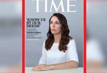 新西兰总理Jacinda Ardern登上本月的《时代》杂志国际版封面。