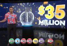 周六高达$3500万的新西兰强力球大奖的抽奖中,没有人中。