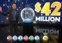 今晚开出的$4200万纽币头奖无人中,下期头奖已累积到了5000万纽币。