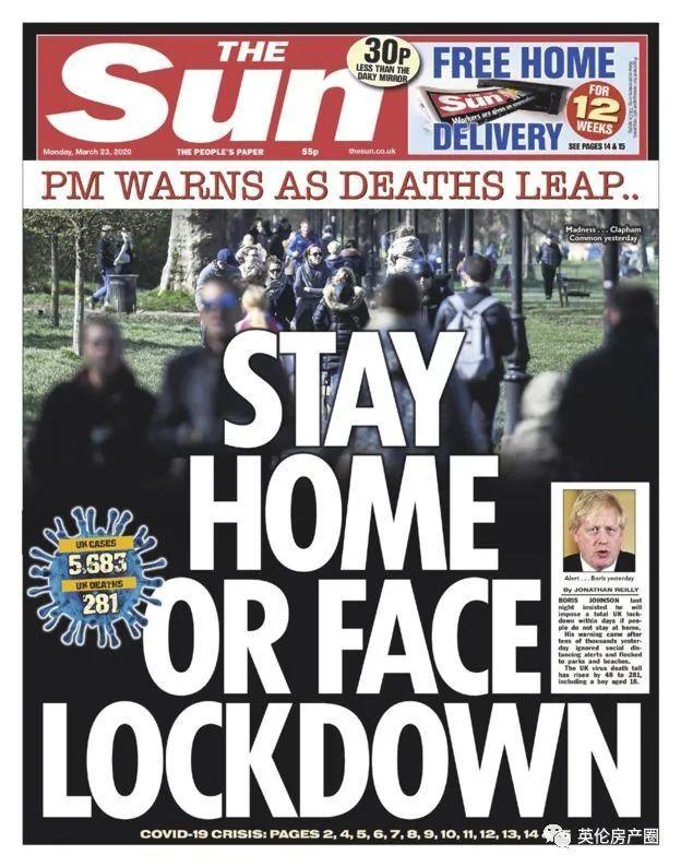 三番五次说社交隔离, 英国人继续扎堆出门! Boris: 你们表逼我强制封城!