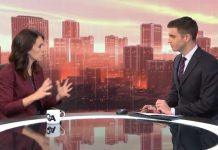 新西兰总理Jacinda Ardern说,可以对人们进行强制隔离。(TVNZ报道截图)