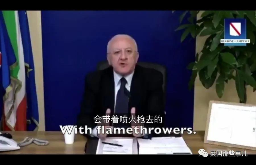 意大利市长又双叒化身村支书在线暴躁怼人:都TM别乱跑了!!