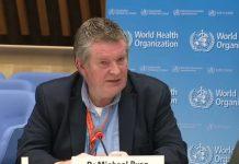 世卫组织Michael Ryan赞扬了新西兰对疫情的反应。