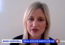 房地产协会表示,新西兰4月份的房屋销售都是非接触式完成。
