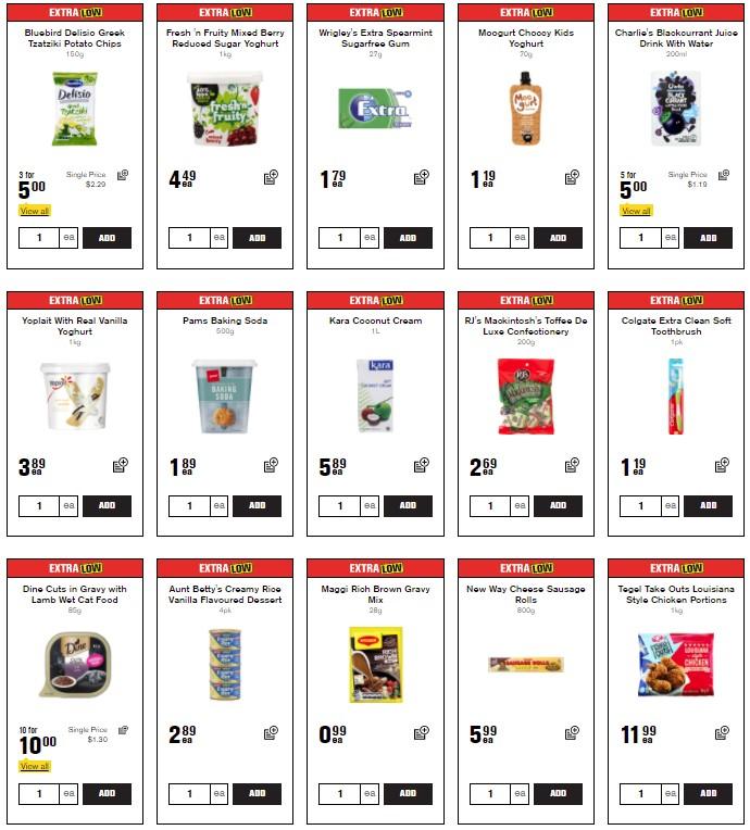 更新:【各大超市每周特价】:本周热卖 !中大奖! 新货 !半价!限时抢购 Flybuys 积分兑换!