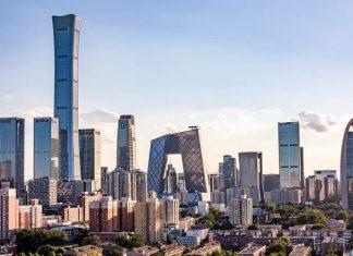北京CBD(資料圖片)。資料來源:1 NEWS