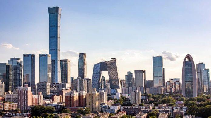 北京CBD(资料图片)。资料来源:1 NEWS